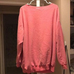 Wildfox Pink Road Trip Sweater Oversized.